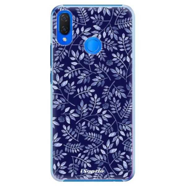 Plastové pouzdro iSaprio - Blue Leaves 05 - Huawei Nova 3i