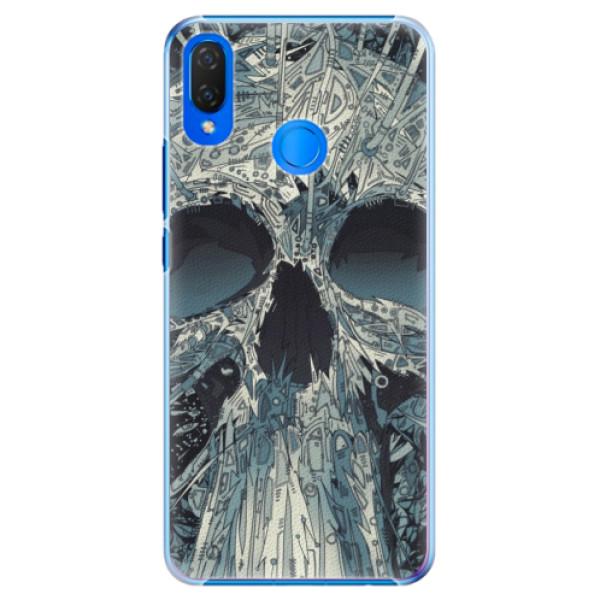 Plastové pouzdro iSaprio - Abstract Skull - Huawei Nova 3i