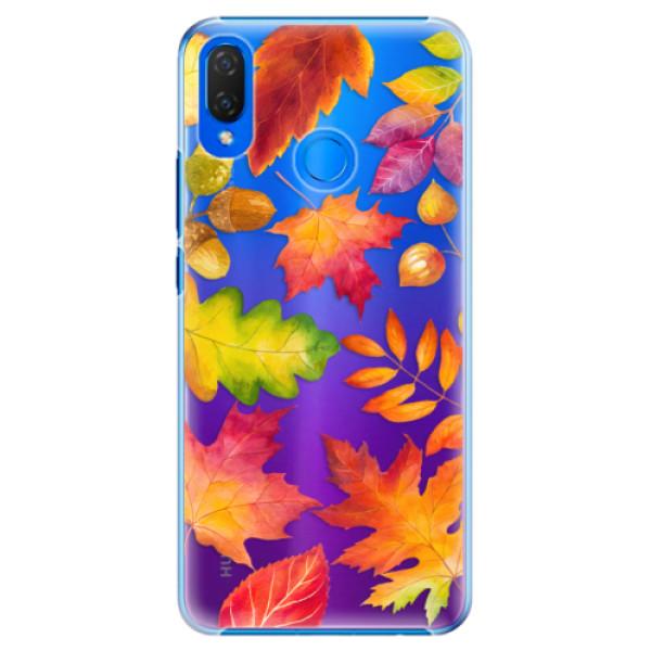 Plastové pouzdro iSaprio - Autumn Leaves 01 - Huawei Nova 3i