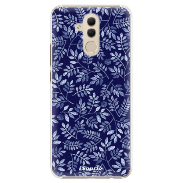 Plastové pouzdro iSaprio - Blue Leaves 05 - Huawei Mate 20 Lite
