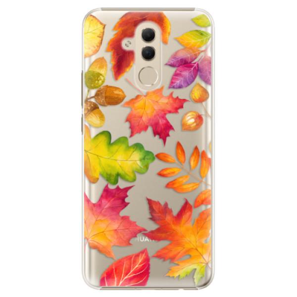 Plastové pouzdro iSaprio - Autumn Leaves 01 - Huawei Mate 20 Lite