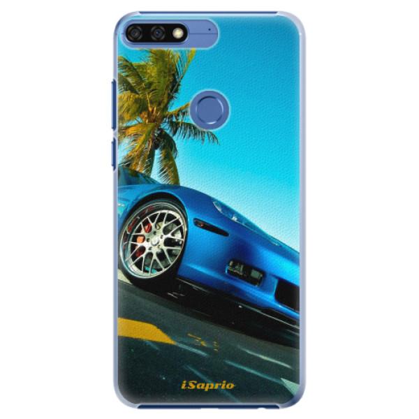 Plastové pouzdro iSaprio - Car 10 - Huawei Honor 7C