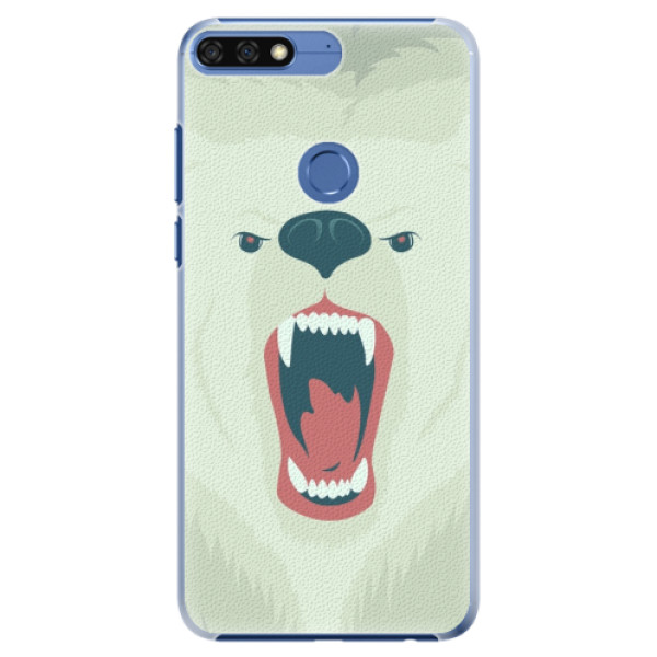 Plastové pouzdro iSaprio - Angry Bear - Huawei Honor 7C