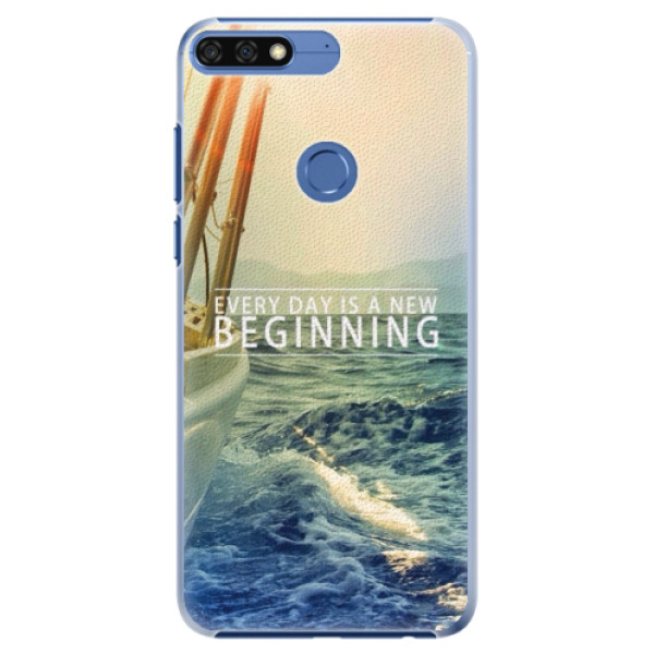 Plastové pouzdro iSaprio - Beginning - Huawei Honor 7C