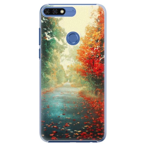 Plastové pouzdro iSaprio - Autumn 03 - Huawei Honor 7C