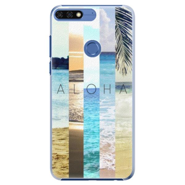 Plastové pouzdro iSaprio - Aloha 02 - Huawei Honor 7C