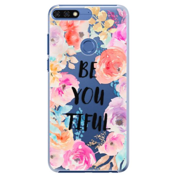 Plastové pouzdro iSaprio - BeYouTiful - Huawei Honor 7C