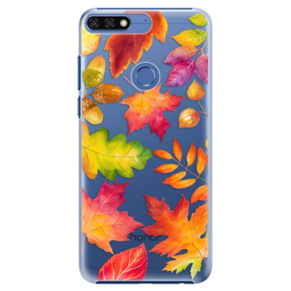 Plastové pouzdro iSaprio - Autumn Leaves 01 - Huawei Honor 7C