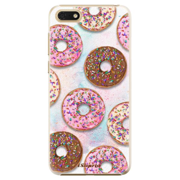 Plastové pouzdro iSaprio - Donuts 11 - Huawei Honor 7S