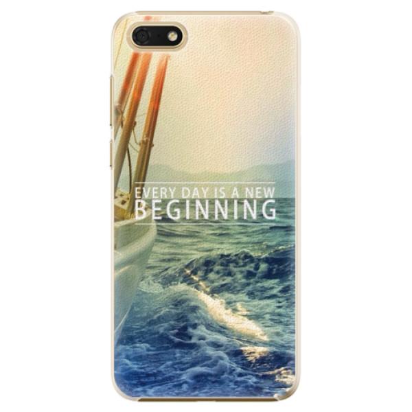 Plastové pouzdro iSaprio - Beginning - Huawei Honor 7S