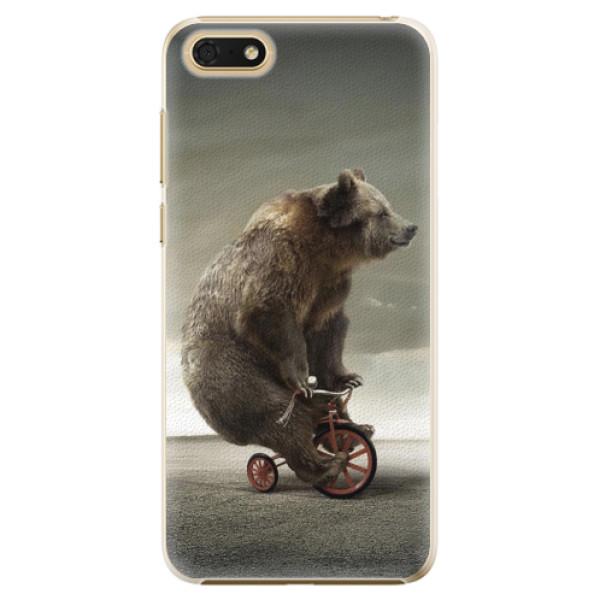 Plastové pouzdro iSaprio - Bear 01 - Huawei Honor 7S