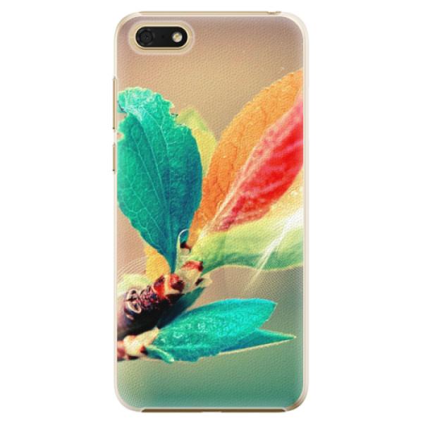 Plastové pouzdro iSaprio - Autumn 02 - Huawei Honor 7S