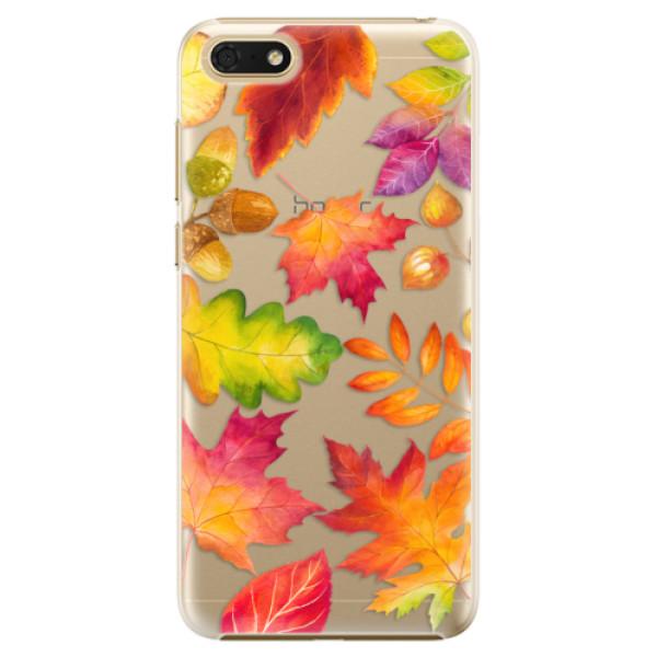 Plastové pouzdro iSaprio - Autumn Leaves 01 - Huawei Honor 7S