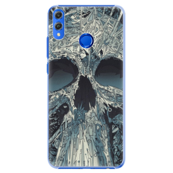 Plastové pouzdro iSaprio - Abstract Skull - Huawei Honor 8X