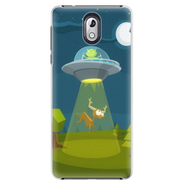 Plastové pouzdro iSaprio - Alien 01 - Nokia 3.1