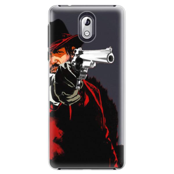 Plastové pouzdro iSaprio - Red Sheriff - Nokia 3.1