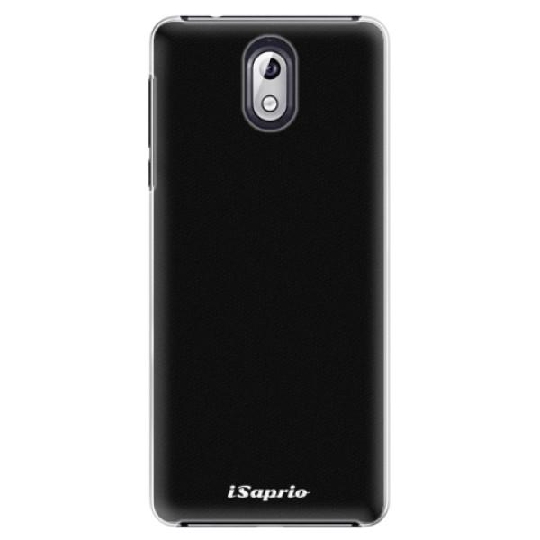 Plastové pouzdro iSaprio - 4Pure - černý - Nokia 3.1