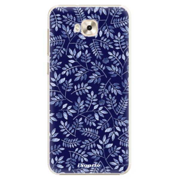 Plastové pouzdro iSaprio - Blue Leaves 05 - Asus ZenFone 4 Selfie ZD553KL