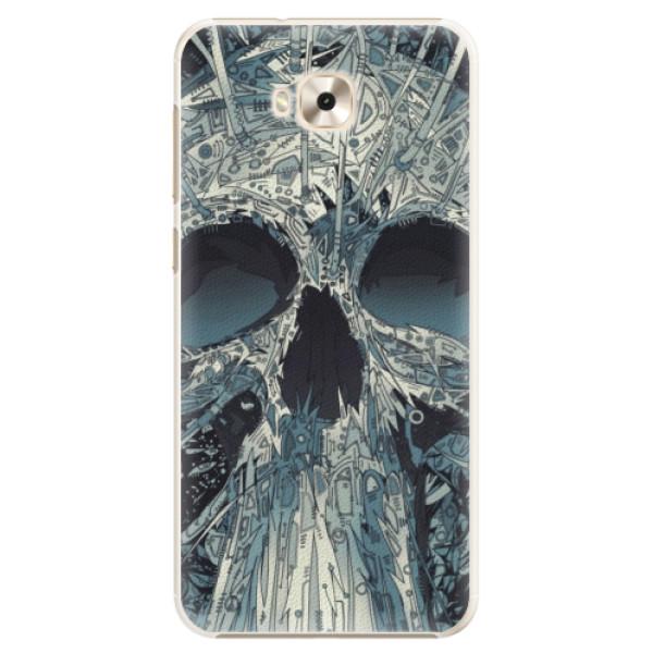 Plastové pouzdro iSaprio - Abstract Skull - Asus ZenFone 4 Selfie ZD553KL