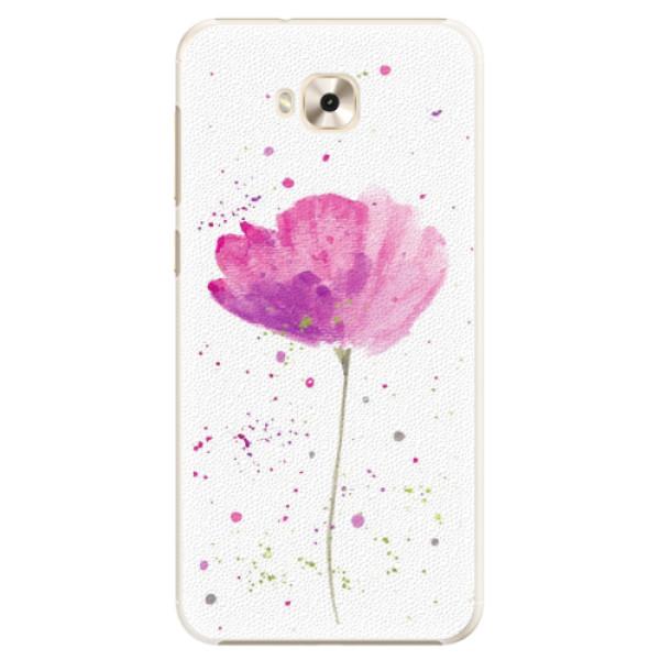 Plastové pouzdro iSaprio - Poppies - Asus ZenFone 4 Selfie ZD553KL