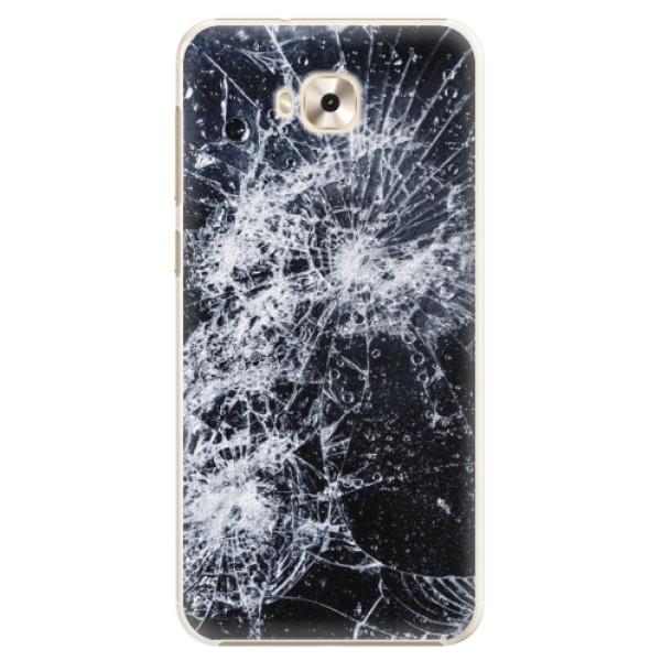 Plastové pouzdro iSaprio - Cracked - Asus ZenFone 4 Selfie ZD553KL