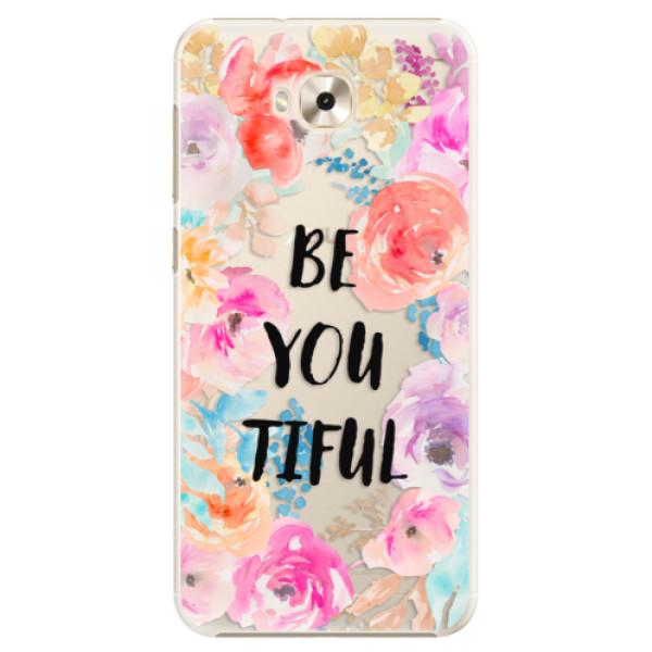 Plastové pouzdro iSaprio - BeYouTiful - Asus ZenFone 4 Selfie ZD553KL
