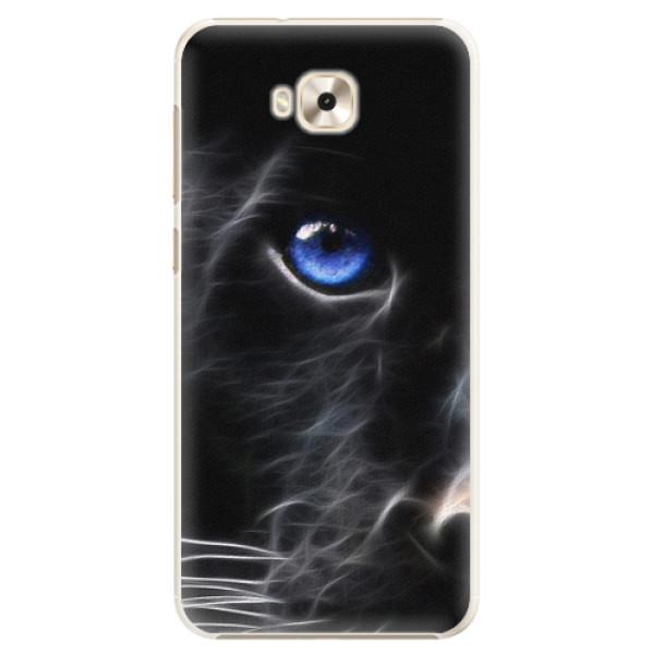 Plastové pouzdro iSaprio - Black Puma - Asus ZenFone 4 Selfie ZD553KL