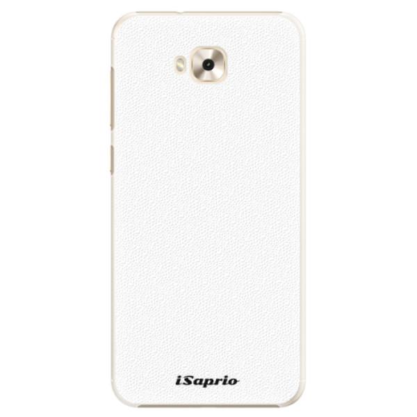 Plastové pouzdro iSaprio - 4Pure - bílý - Asus ZenFone 4 Selfie ZD553KL