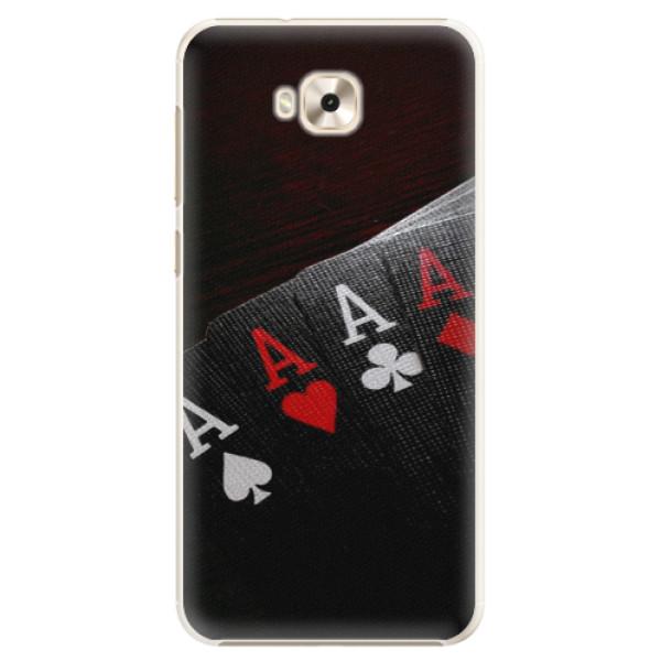 Plastové pouzdro iSaprio - Poker - Asus ZenFone 4 Selfie ZD553KL