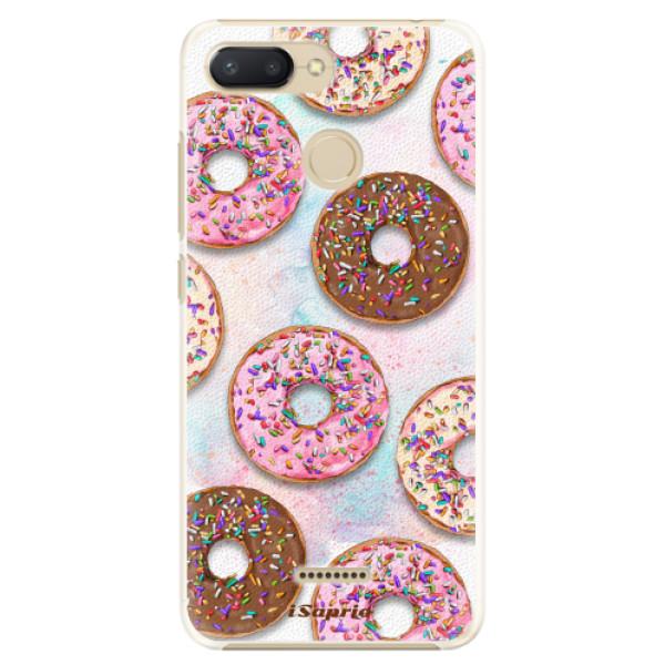 Plastové pouzdro iSaprio - Donuts 11 - Xiaomi Redmi 6