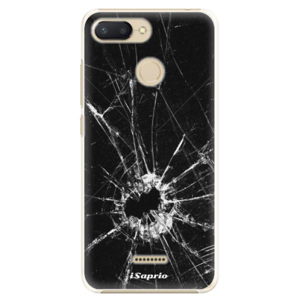 Plastové pouzdro iSaprio - Broken Glass 10 - Xiaomi Redmi 6