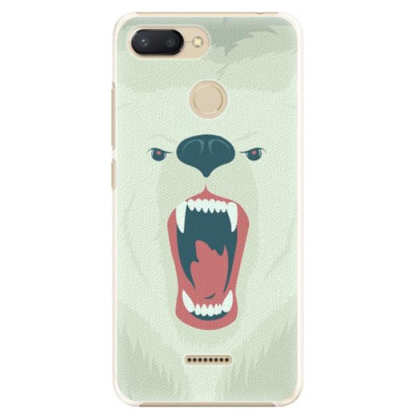 Plastové pouzdro iSaprio - Angry Bear - Xiaomi Redmi 6