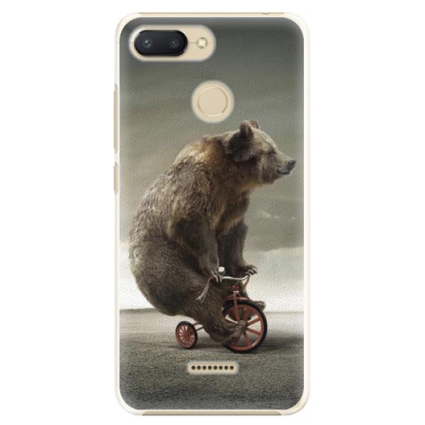 Plastové pouzdro iSaprio - Bear 01 - Xiaomi Redmi 6