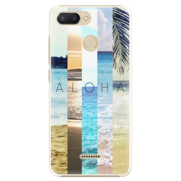 Plastové pouzdro iSaprio - Aloha 02 - Xiaomi Redmi 6