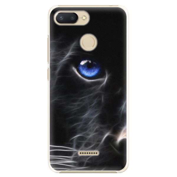 Plastové pouzdro iSaprio - Black Puma - Xiaomi Redmi 6