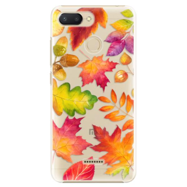 Plastové pouzdro iSaprio - Autumn Leaves 01 - Xiaomi Redmi 6
