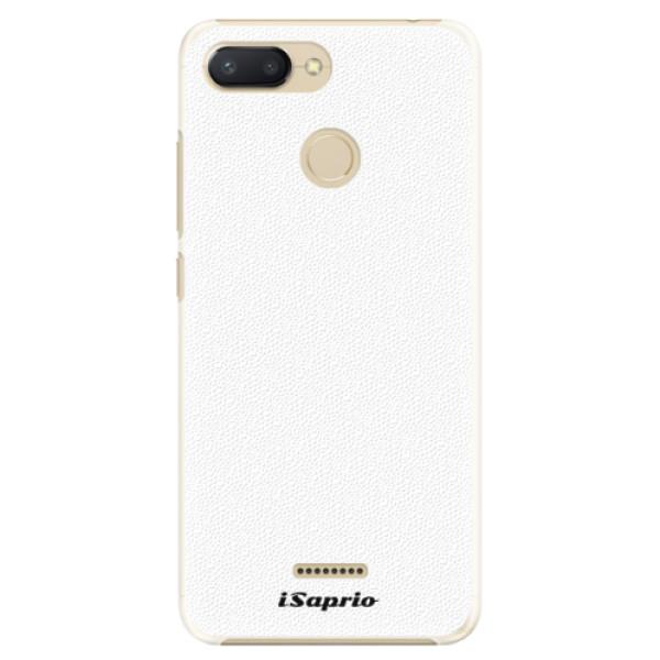 Plastové pouzdro iSaprio - 4Pure - bílý - Xiaomi Redmi 6