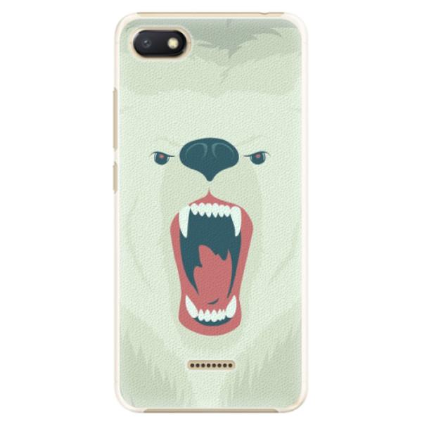 Plastové pouzdro iSaprio - Angry Bear - Xiaomi Redmi 6A