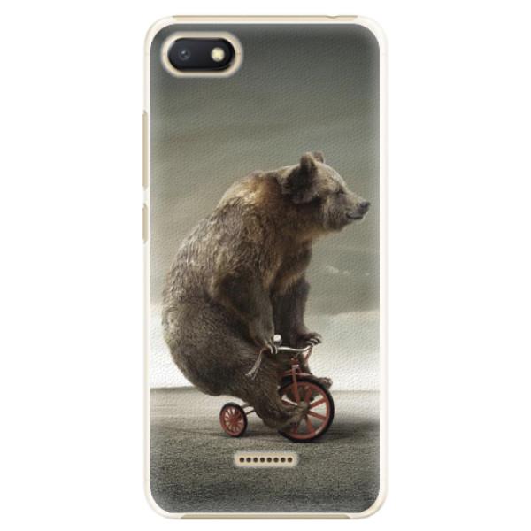 Plastové pouzdro iSaprio - Bear 01 - Xiaomi Redmi 6A