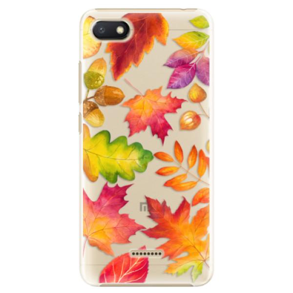 Plastové pouzdro iSaprio - Autumn Leaves 01 - Xiaomi Redmi 6A