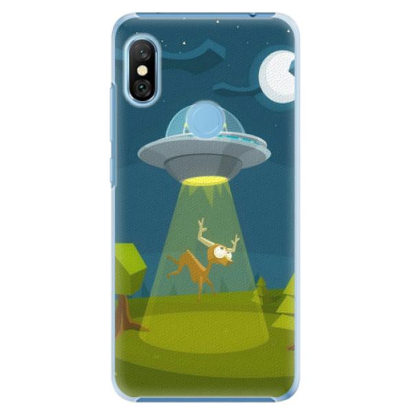 Plastové pouzdro iSaprio - Alien 01 - Xiaomi Redmi Note 6 Pro