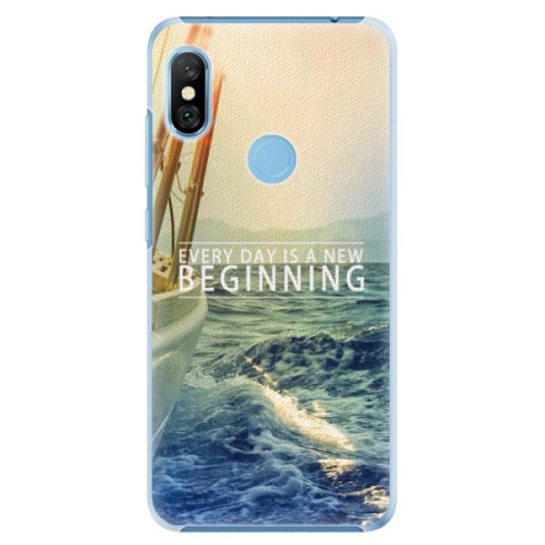 Plastové pouzdro iSaprio - Beginning - Xiaomi Redmi Note 6 Pro