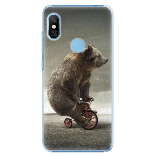 Plastové pouzdro iSaprio - Bear 01 - Xiaomi Redmi Note 6 Pro