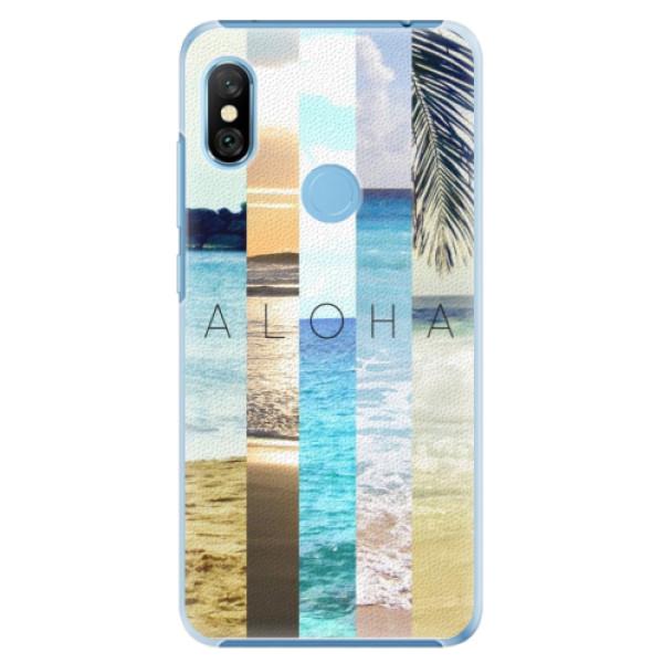 Plastové pouzdro iSaprio - Aloha 02 - Xiaomi Redmi Note 6 Pro