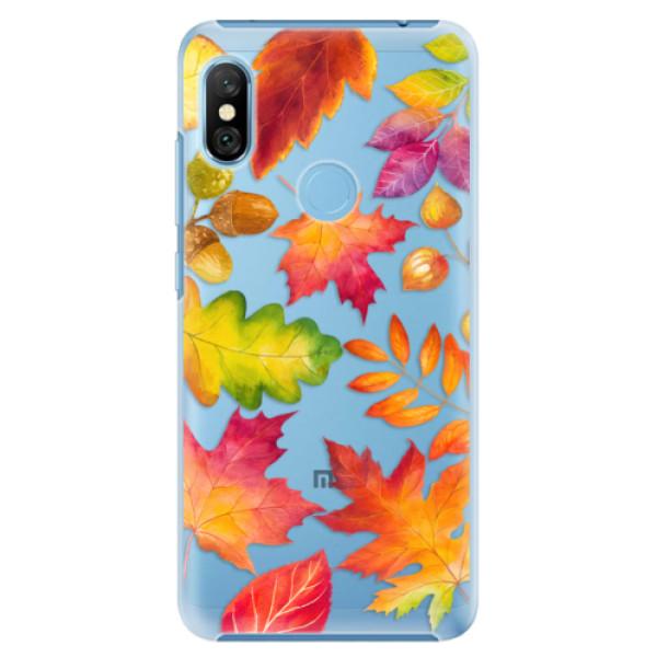 Plastové pouzdro iSaprio - Autumn Leaves 01 - Xiaomi Redmi Note 6 Pro