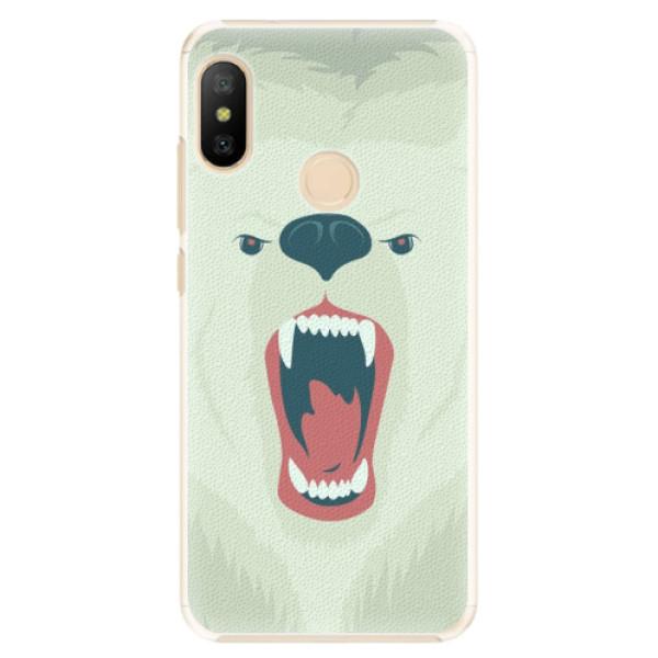 Plastové pouzdro iSaprio - Angry Bear - Xiaomi Mi A2 Lite