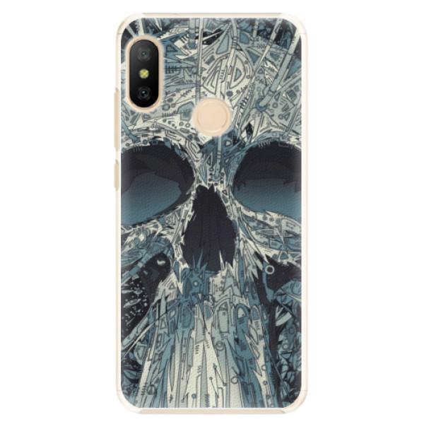 Plastové pouzdro iSaprio - Abstract Skull - Xiaomi Mi A2 Lite