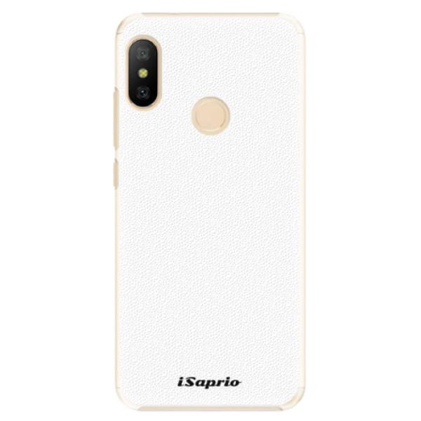 Plastové pouzdro iSaprio - 4Pure - bílý - Xiaomi Mi A2 Lite
