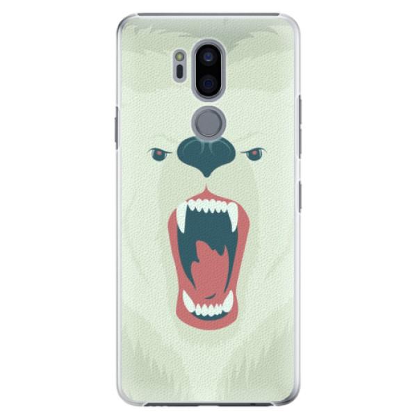 Plastové pouzdro iSaprio - Angry Bear - LG G7