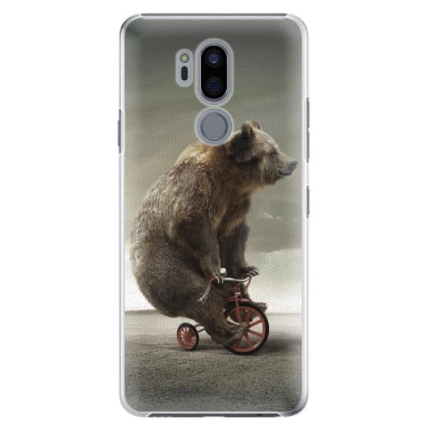 Plastové pouzdro iSaprio - Bear 01 - LG G7